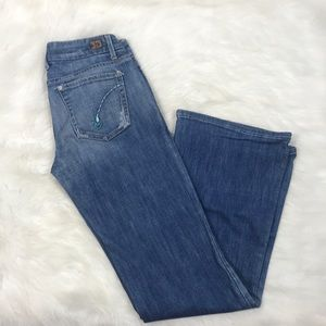 Joes Jeans vintage series embroidered trim size 26
